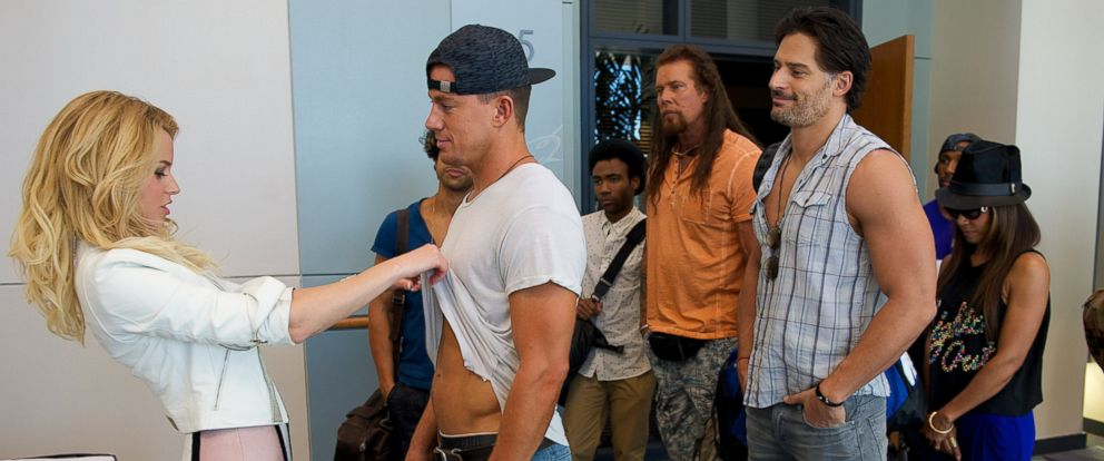 "PHOTO: A scene from ""Magic MikeXXL""."
