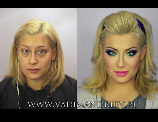 Make-up Artist Vadim Andreev