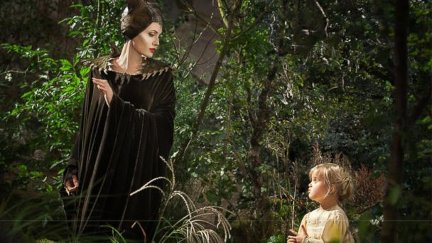 ht maleficent jolie kb 140528 16x9 608 How Brad Pitt and Angelina Jolie Coached Vivienne in Maleficent