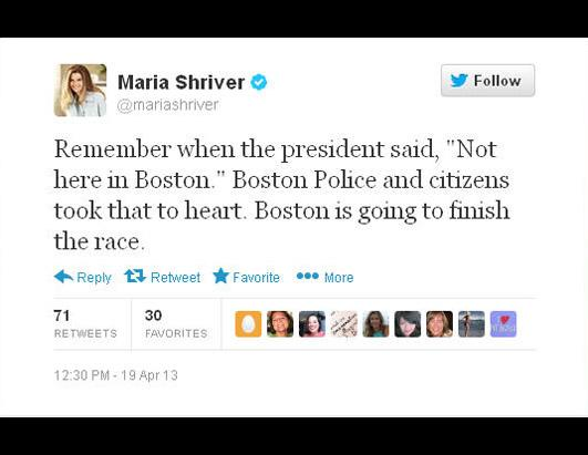 Celebrities Tweet About Boston Manhunt