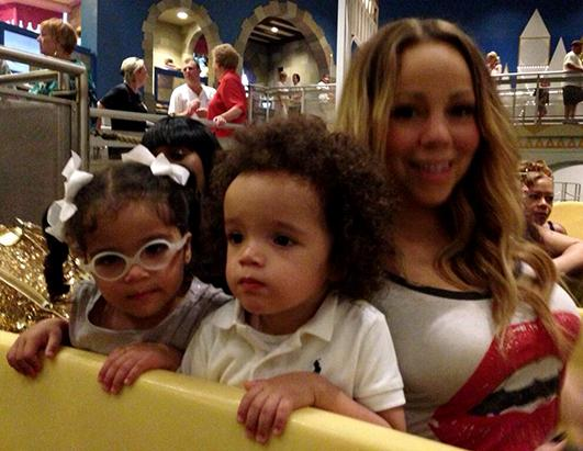 Mariah Carey's Family Trip to Disneyland