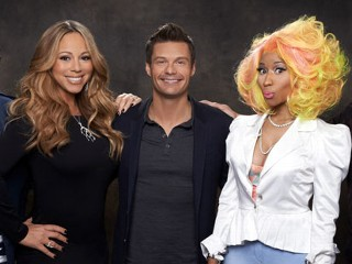 Carey, Minaj Talk 'Idol' Feud Rumors