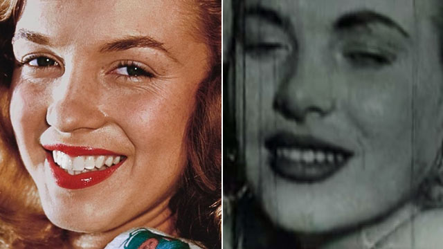 PHOTO: Seen here is Marilyn Monroe, left, and a film still which allegedly shows Monroe having sex.