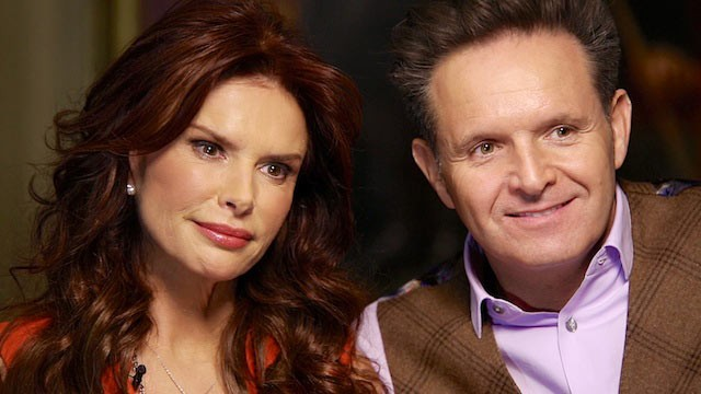 PHOTO: Mark Burnett and Roma Downey spoke with