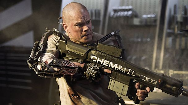 ht matt damon elysium ll 130809 16x9 608 Movie Review: Elysium Puts Damon on Dystopian Future Earth