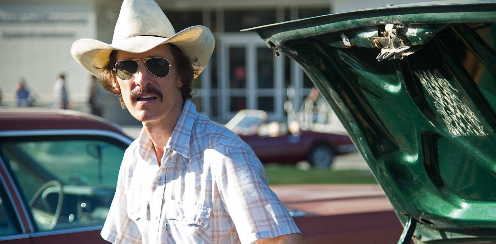 "PHOTO: Matthew McConaughey in the film ""Dallas Buyers Club"""