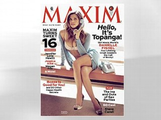 Photos: 'Boy Meets World' Star Poses for Maxim