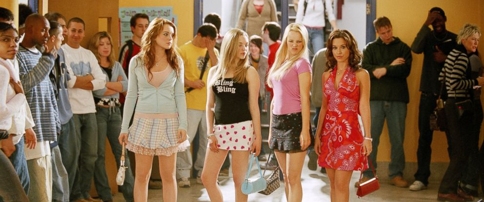 "Lacey Chabert, Rachel McAdams, Lindsay Lohan and Amanda Seyfried appear in the 2004 film, ""Mean Girls""."