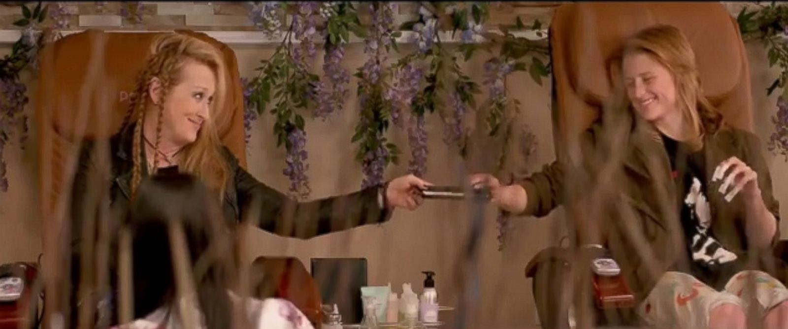"""PHOTO: Meryl Streep and Mamie Gummer appear in the trailer for """"Ricki and the Flash""""."""
