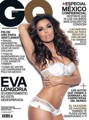 Eva Longoria Rocks the Cover of GQ Mexico