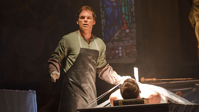 "PHOTO: Michael C. Hall as Dexter Morgan in ""Dexter,"" Season 7, Episode 1."