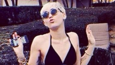 Miley Cyrus Rocks a Teeny Bikini