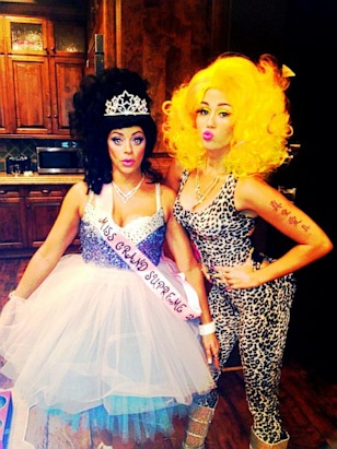 Stars Show Off Their Halloween Costumes