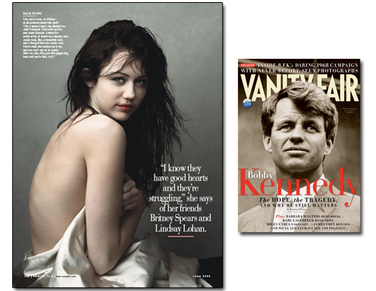 Miley Cyrus Vanity Fair Photo