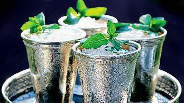 PHOTO: Four Roses' mint julep cocktail is shown here.