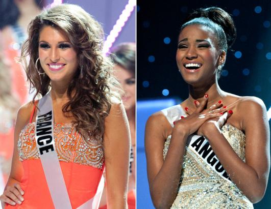 Miss France Trashes Miss Angola