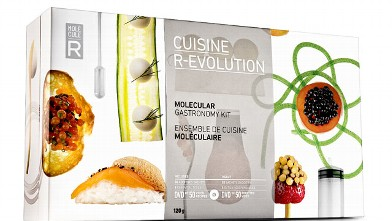 PHOTO: The Cuisine R-Evolution molecular gastronomy kit is shown here.