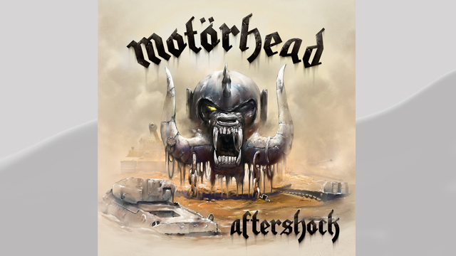 PHOTO: Motorhead's Aftershock album cover