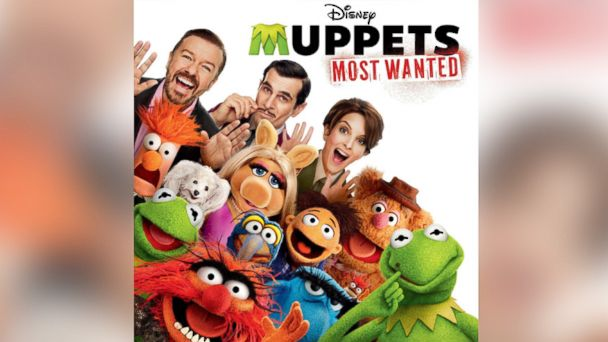 "PHOTO: Various Artists, """"Muppets Most Wanted"" (Original Motion Picture Soundtrack)."""