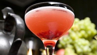 "PHOTO: The Music Power cocktail inspired by ""Amour"" is shown here."