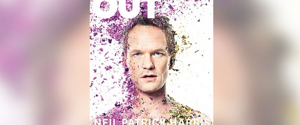 PHOTO: Neil Patrick Harris appears on the cover of Out Magazines April 2014 issue.