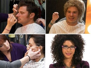 Photo: Secret Celebrity: Nick Lachey, Kim Kardashian