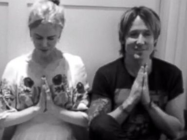 Keith Urban and Nicole Kidman Pray For Peace with Their Daughters