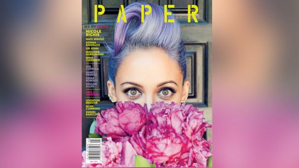 ht nicole richie paper mag wy 140429 16x9 608 Nicole Richie on Gardening, Raising Kids in Hollywood