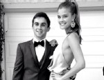 "PHOTO: Model Nina Agdal posted this photo to her Instagram and tweeted, ""Had such a great prom night. Thank you @jakedavidson23 for being an awesome date!"" on May 23, 2013."