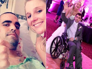 Couple's Dying Wish for Dream Wedding, Disney Honeymoon Comes True