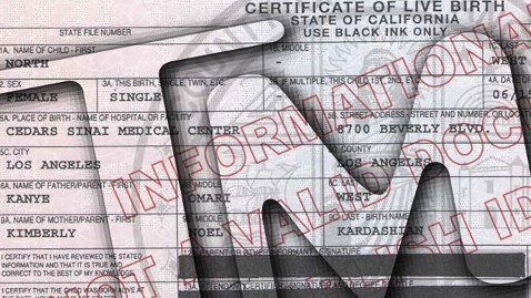 ht north westBirth certficate nt 130621 wblog Photo Proof That Kim and Kanye Named Their Baby North West