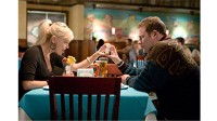 "PHOTO Anna Faris, as Brandi, and Seth Rogen, as Ronnie are shown in a scene from Warner Bros. Pictures' and Legendary Pictures' dark comedy ""Observe and Report"