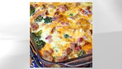 PHOTO: Erin Chase's breakfast casserole is shown here.