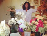 "PHOTO: Oprah Winfrey posted on her Twitter page an instagram of her and her birthday flowers, saying ""Beautiful birthday. Thanks All!"", Jan. 30, 2013."
