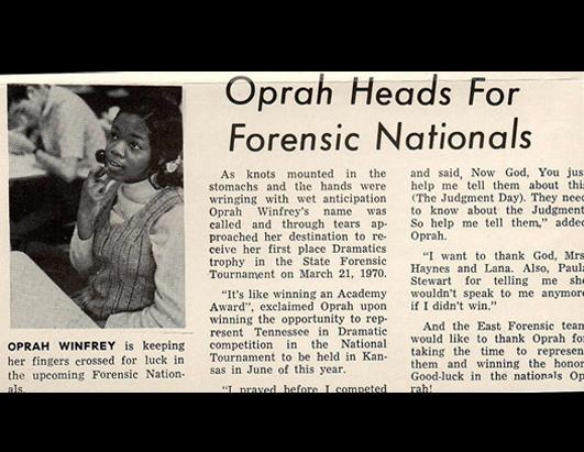 Oprah: A Look Back