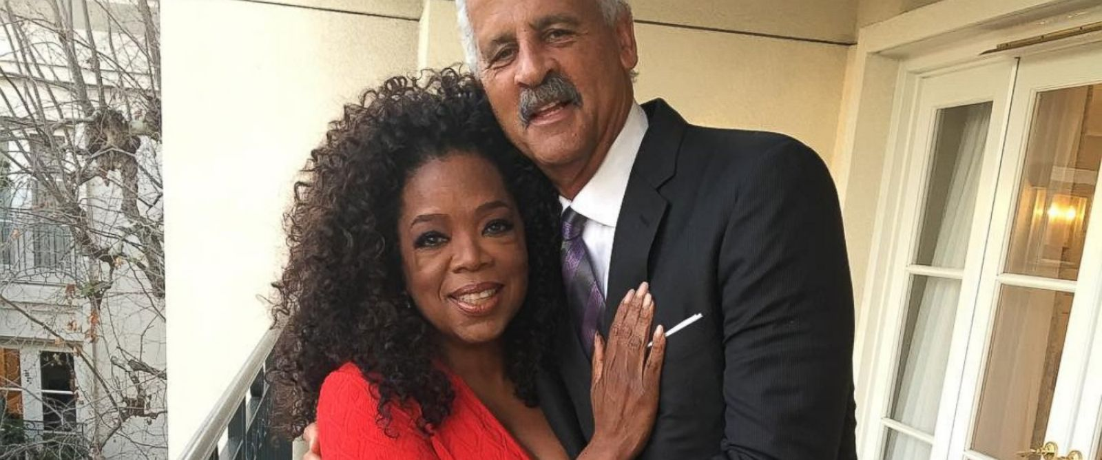 "PHOTO: Oprah posted this photo to Instagram with the caption ""Stepping out with my Valentine of almost 30 yrs! #iovinewedding"" on Feb. 12, 2016."
