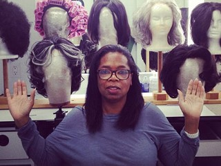 Oprah Goes Natural on Twitter, 'O'