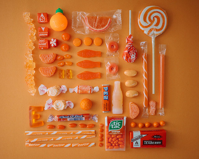 ht orange emily blincoe sugar series lpl 130905 blog PHOTOS: All The Candies of The Rainbow