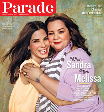 ht parade sandra bullock nt 130606 blog Sandra Bullock: My Son Louis Hates Paparazzi