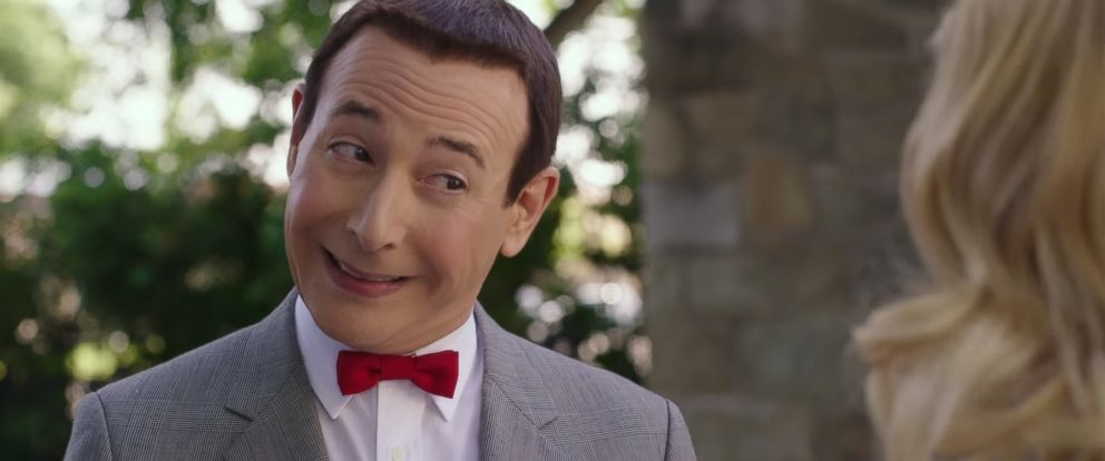"""PHOTO: Paul Reubens is seen in an image made from the official trailer for """"Pee-wees Big Holiday"""" that was released on Feb. 16, 2016."""
