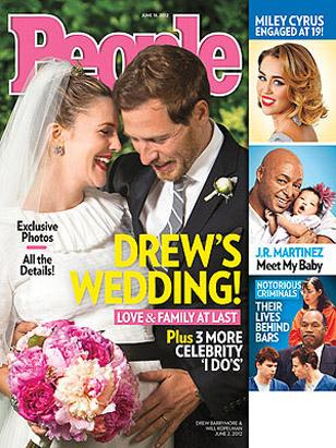 Drew Barrymore Gets Married