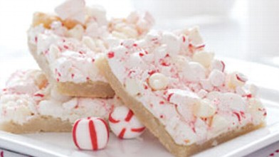 PHOTO: Peppermint Bars from the kitchen of Sandra Lee are shown.