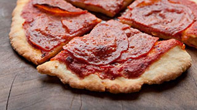 PHOTO: Silvana Nardone's pepperoni pizza.