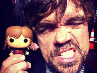 Photos: 'Game of Thrones' Actors Pose With Their Toy Twin