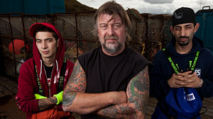Photo: Jake Harris Caught by Father Phil on Deadliest Catch