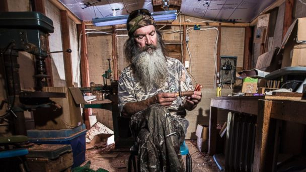 ht phil robertson ll 131227 16x9 608 Duck Dynasty Family Launches New Gun Line