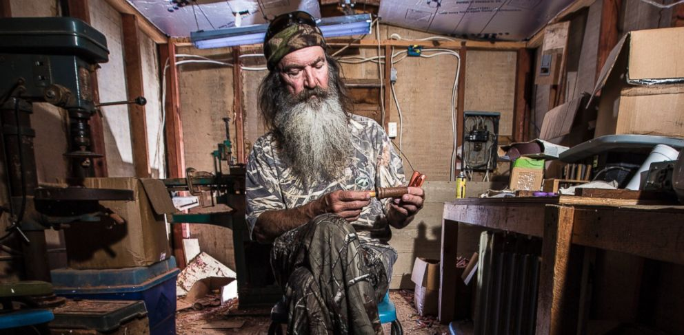 "PHOTO: Phil Robertson in A&Es ""Duck Dynasty."""