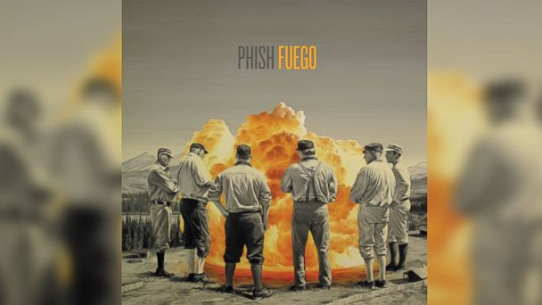 "PHOTO: Phish - ""Fuego"""