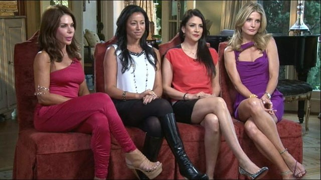 "PHOTO: Veronica Matlock, Alana Sands, Danya Devon and Frances Marques are the stars of TLC's ""Plastic Wives,"" married to some of the most successful plastic surgeons in Beverly Hills."