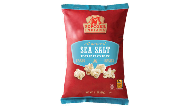 PHOTO: Indiana's sea salt popcorn is shown here.